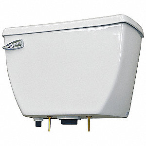 Toilet Tank,Pressure Assist,Floor,White