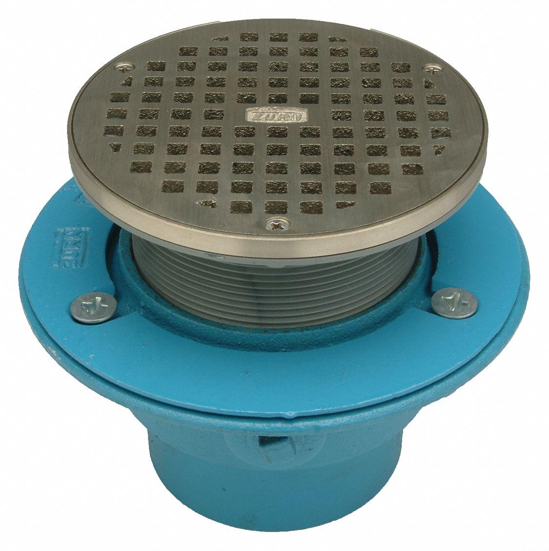 zurn itm with iron floors drain grate ebay cast s floor