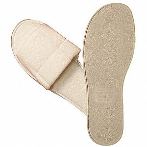 Slippers,Mens,Open Toe,Terry,PK25