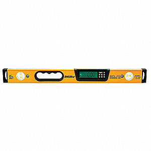Digital Level, Waterproof, 24 In.
