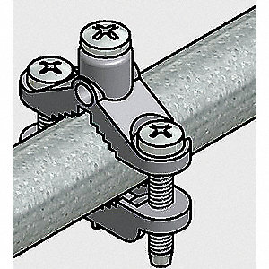 "Steel Track Mounted End Stop, 2"" Length"