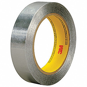 Foil Tape,3 in. x 55 yd.,Silver