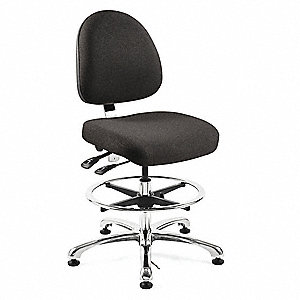 Ergonomic Chair,Fabric,Black
