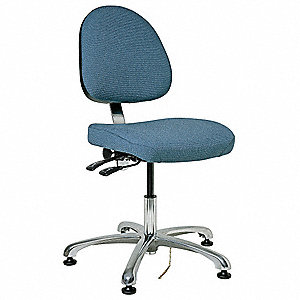 Ergonomic Chair,Fabric,Slate Blue