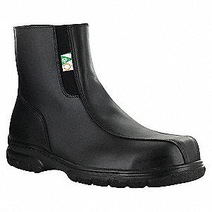 SIDE ZIPPER BOOT ST/CP ESR SZ 9.5
