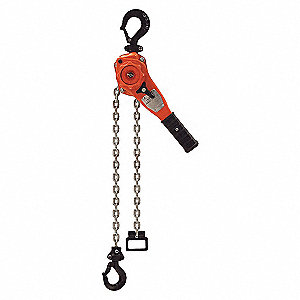 CHAIN HOIST LEVER 1.5T 15FT LIFT