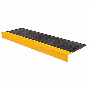 Stair Tread,Yellow/Black,36in W