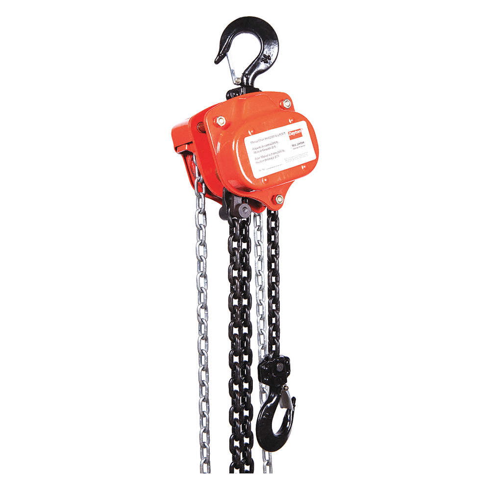 Manual Chain Hoist 2000 Lb Load Capacity 20 Ft Lift 1 7 64 Hook Opening Dayton Wiring Diagram Zoom Out Reset Put Photo At Full Then Double Click