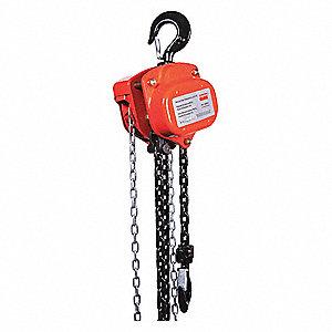 dayton manual chain hoist 4000 lb load capacity 15 ft hoist lift rh grainger com dayton electric hoist manual dayton electric hoist manual