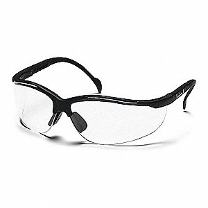 Venture II Scratch-Resistant Safety Glasses, Clear Lens Color
