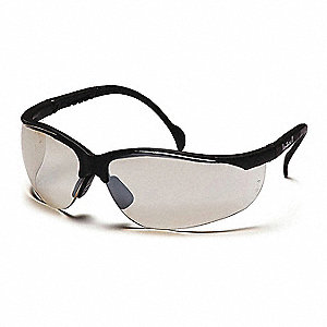 Venture II Anti-Fog, Scratch-Resistant Safety Glasses, Indoor/Outdoor Mirror Lens Color