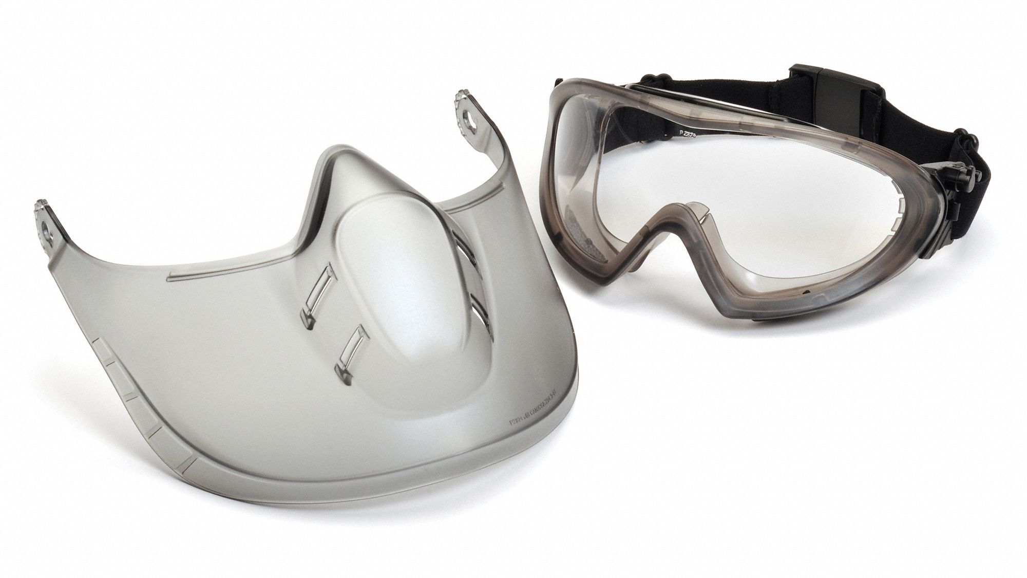 Goggles and Faceshield,Clear Lens