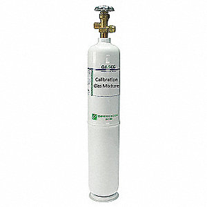 Carbon Monoxide, Air Calibration Gas, 552L Cylinder Capacity