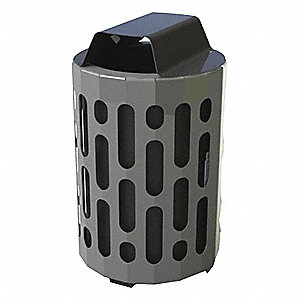 STINGRAY 42 GL WASTE RECEPTACLE BLK