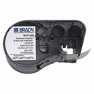 B428 SLV 1.0IN X0.5IN 480 CART