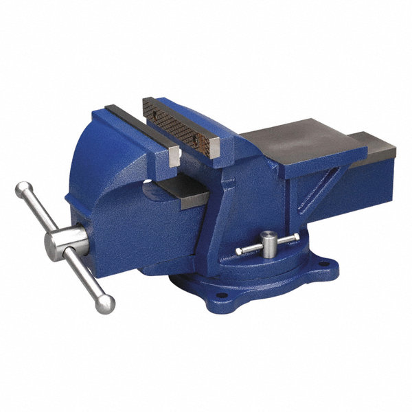 Wilton 6 Steel Bench Vise 3 Throat Depth 29yv61 11106 Grainger