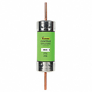 110A Time Delay Fiberglass Fuse with 250VAC/125VDC Voltage Rating; FRN-R Series
