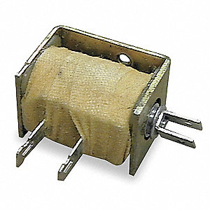 "Solenoid, 120VAC Coil Volts, Stroke Range: 1/16"" to 1/2"", Duty Cycle: Continuous"