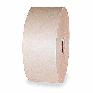 "600 ft. x 3"" Kraft Paper Carton Sealing Tape, Brown"