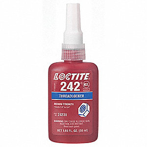Threadlocker 242,250mL Bottle,Blue