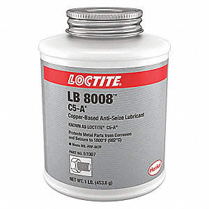 loctite copper anti seize compound 20 f to 1800 f 16 oz. Black Bedroom Furniture Sets. Home Design Ideas