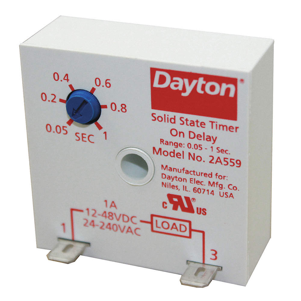 Dayton Relay Time Delay Csa Encapsulated Relays Solid State Canada