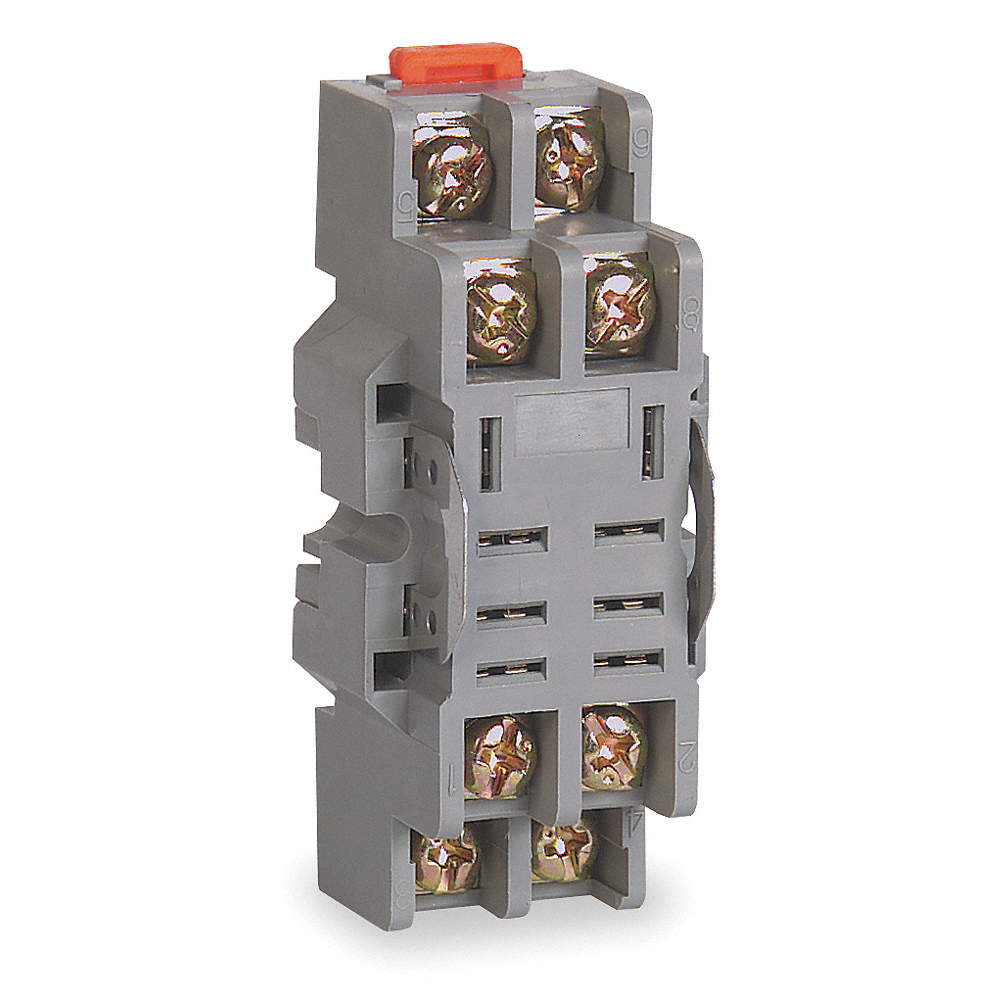 DAYTON Relay Socket, Number of Pins: 8 - 2A582 2A582 - Grainger on