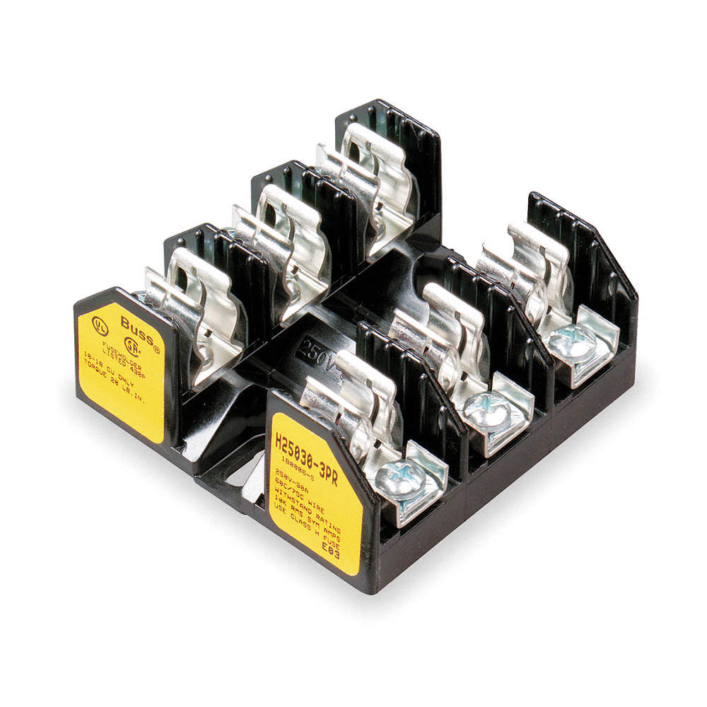Eaton Bussmann 3 Pole Industrial Fuse Block Ac 250vac Dc 125vdc Buss S Type Box Zoom Out Reset Put Photo At Full Then Double Click