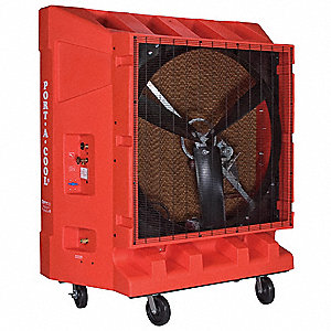 Portable Evaporative Cooler,20,000cfm