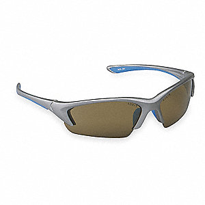 Nitrous Anti-Fog Safety Glasses, Bronze Lens Color