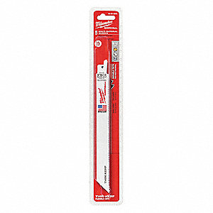 Reciprocating Saw Blade,8 In. L,PK5