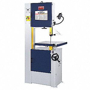 1-1/2 HP Vertical Band Saw, Voltage: 115/230, Max. Blade Length: 120-3/4""
