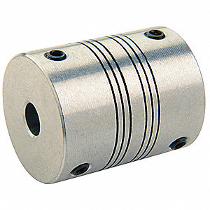 MotionControl Coupling,Set Screw,6mmx3mm