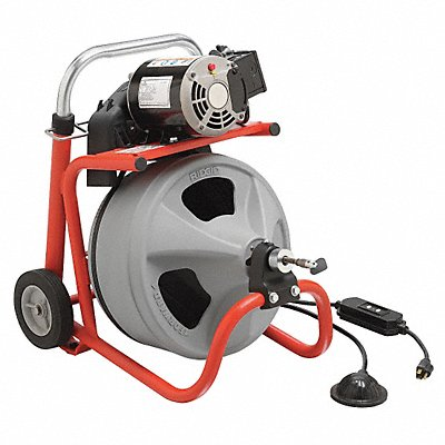 2AER5 - Drain Cleaning Machine 1/2Inx75ft Cable