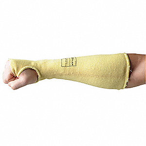 Cut Resistant Sleeve w/Thumb,Cut 3,18""