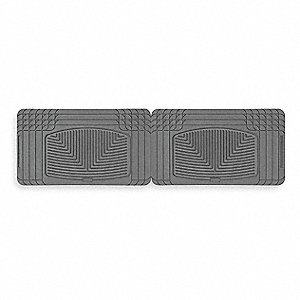 "59.84"" x 32.96"" Rear Rubber Mats, Gray"