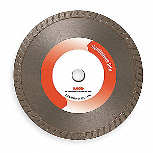 "4-1/2"" Wet Diamond Saw Blade, Turbo Rim Type"