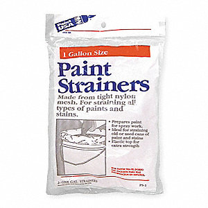 Reusable Paint Strainer Bag,Dia 8 In,PK2