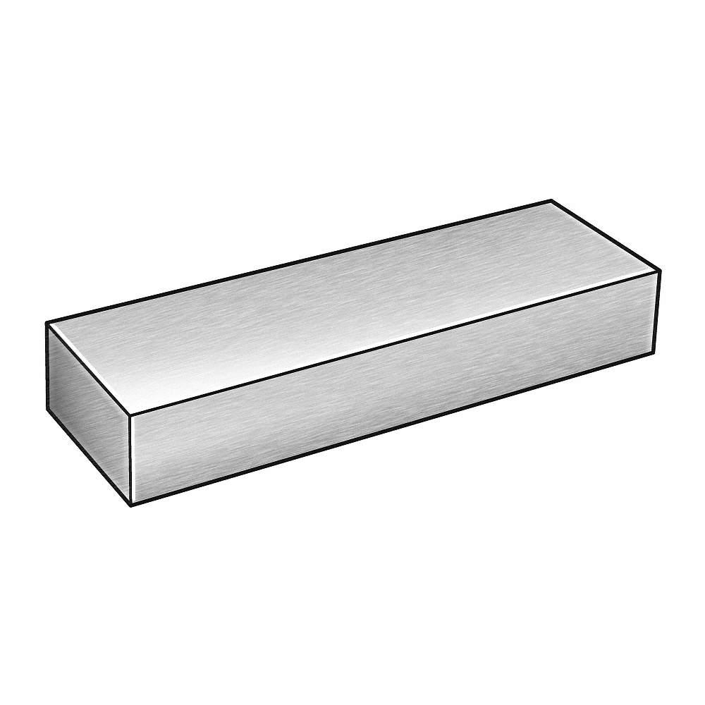 "Aluminum Flat Bar 3//4/"" x 1//8/"" 8 Foot Mill Finish"