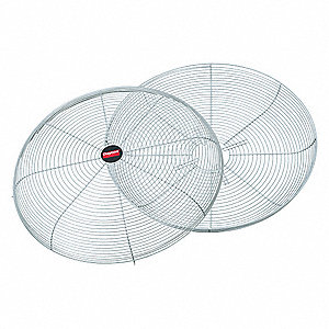 "Steel Air Circulator Guard,27"" Guard Dia., For Use With 48 and 56 Frame Motors"