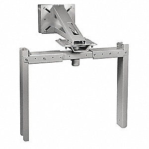 Wall Mount Bracket For Use With Dayton Heavy Duty Air Cannons, 24 to 36""