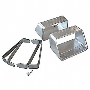 Mtg Bracket Set,Flexible Steel,182mm