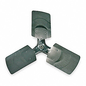 Replacement Propeller,24 In,3 Blade