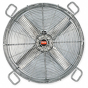 "24"" Cast Aluminum Transformer Cooling Fan,6800 cfm, 208-230/460 Voltage"