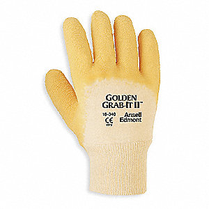 Cut Resistant Gloves,XL,Yellow,PR
