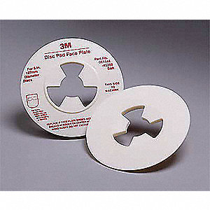 "5"" Diameter Disc Pad Smooth Face Plate"