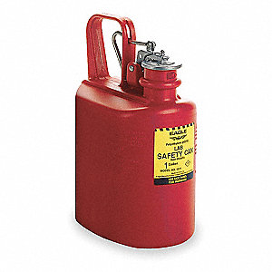 1 gal. Type I Safety Can, Used For Flammables, Red