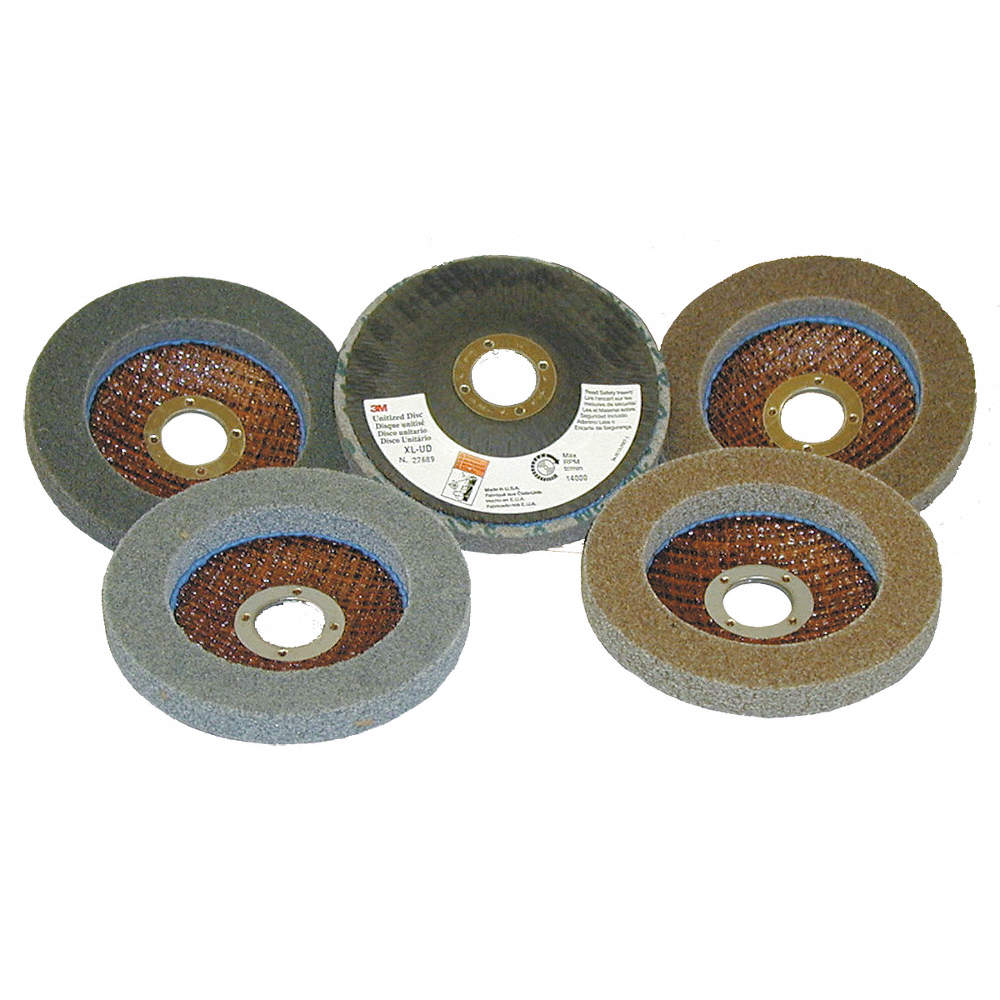 3 Diameter Pack of 40 Abrasive Grit 3 x 1//4 x 1//4 7S MED Scotch-Brite 05654 Cut and Polish Unitized Wheel 18100 RPM
