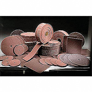 Very Fine Aluminum Oxide Abrasive Roll, 30 ft. L X 4""
