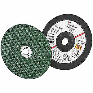"4-1/2"" Type 1 Ceramic Abrasive Cut-Off Wheel, 7/8"" Arbor, 0.0469""-Thick, 13,300 Max. RPM"
